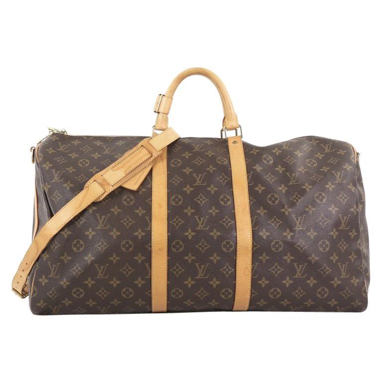 988465ab99b9 Louis Vuitton Keepall Bandouliere Bag Monogram Canvas 55 at 1stdibs