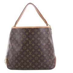 Louis Vuitton Delightful NM Handbag Monogram Canvas MM