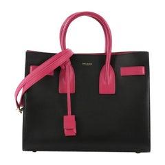 Saint Laurent Sac de Jour NM Handbag Leather Small