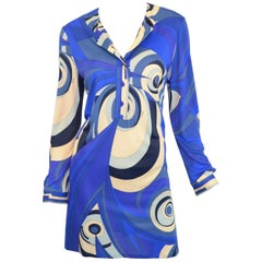 Emilio Pucci Jersey Print Tunic Dress