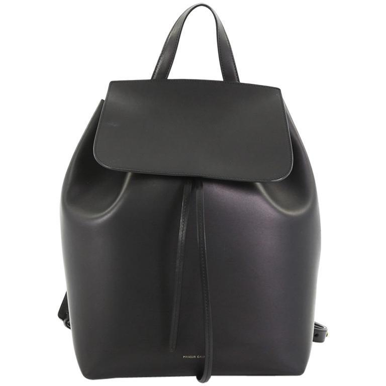 64ea3dc178a7 Mansur Gavriel Drawstring Backpack Leather Large at 1stdibs