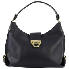 Salvatore Ferragamo New Fanisa Hobo Leather Small