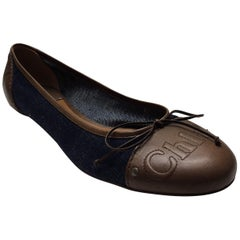 Chloe Two-Toned Ballet Flat