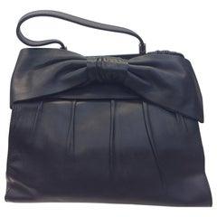 Valentino Black Leather Handbag