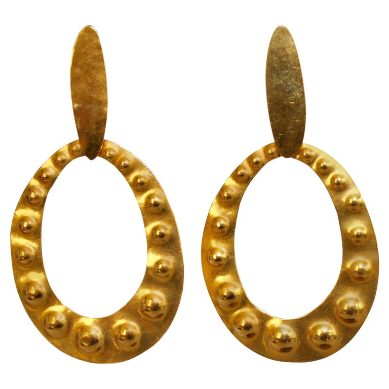 Clip earrings, 2018, offered by Isabelle K Jewelry