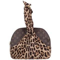 Louis Vuitton Limited Edition Alaia Centenaire Alma Bag Pony Hair and Monogram C