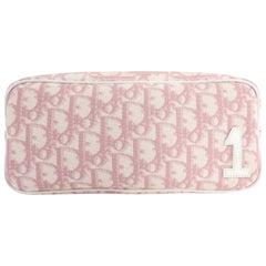Christian Dior Pink Monogram Logo Small Pouch Bag