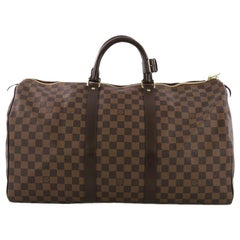 Louis Vuitton Keepall Bag Damier 50