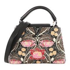 Louis Vuitton Capucines Handbag Printed Embossed Leather BB