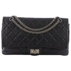 Chanel Reissue 2.55 Handbag Quilted Aged Calfskin 227