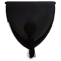 Black Evening Van Cleef & Arpels Bag 80s