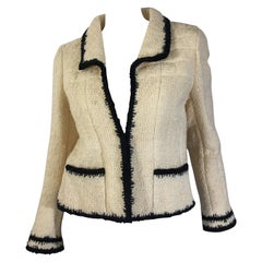 Chanel Textured Wool Jacket