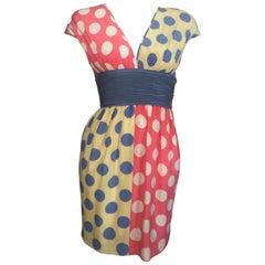 3f225e5dab8f Valentino 2 Piece Medieval Mosaic Runway Vintage Silk Evening Gown ...