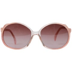 J Jourdan Paris Vintage Powder Pink Sunglasses 0C136 New Old Stock
