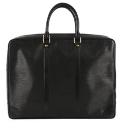 Louis Vuitton Porte-Documents Voyage Briefcase Epi Leather