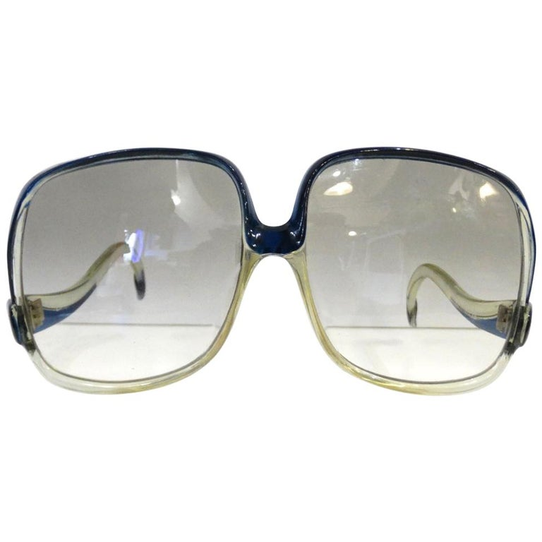 4e4e9f9c0ae39 1970s Balenciaga Oversized Sunglasses For Sale at 1stdibs