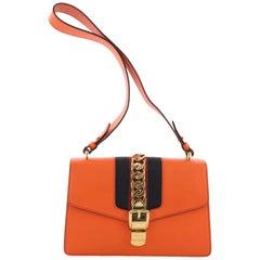 7b2e7bddd62e Gucci Soho Tassel Burnt Suede Chain Tote 7ge1223 Orange Nubuck ...