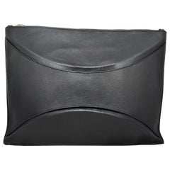Maison Martin Margiela Calf Leather Clutch with Strap