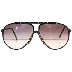 1980s Alpina M1 Aviator Sunglasses