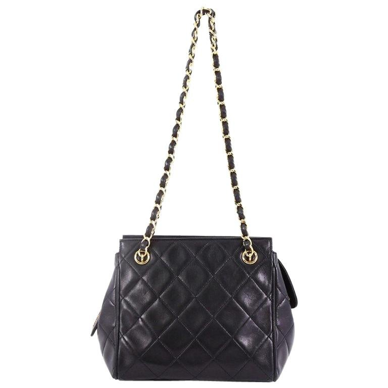 23c58bbcda51 Chanel Vintage Chain Tote Quilted Lambskin Mini at 1stdibs