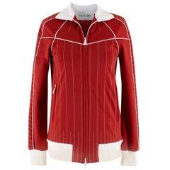 Valentino Stitching Techno Gabardine Track Jacket US 0-2