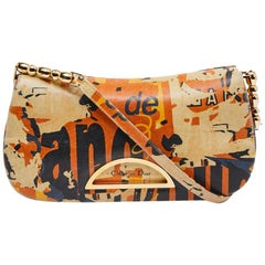 CHRISTIAN DIOR 'Malice' Model Vintage Baguette Bag in Multicolored Leather