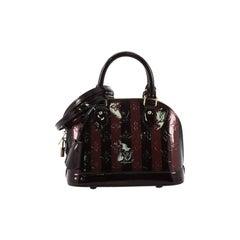 Louis Vuitton Alma Handbag Limited Edition Monogram Vernis BB
