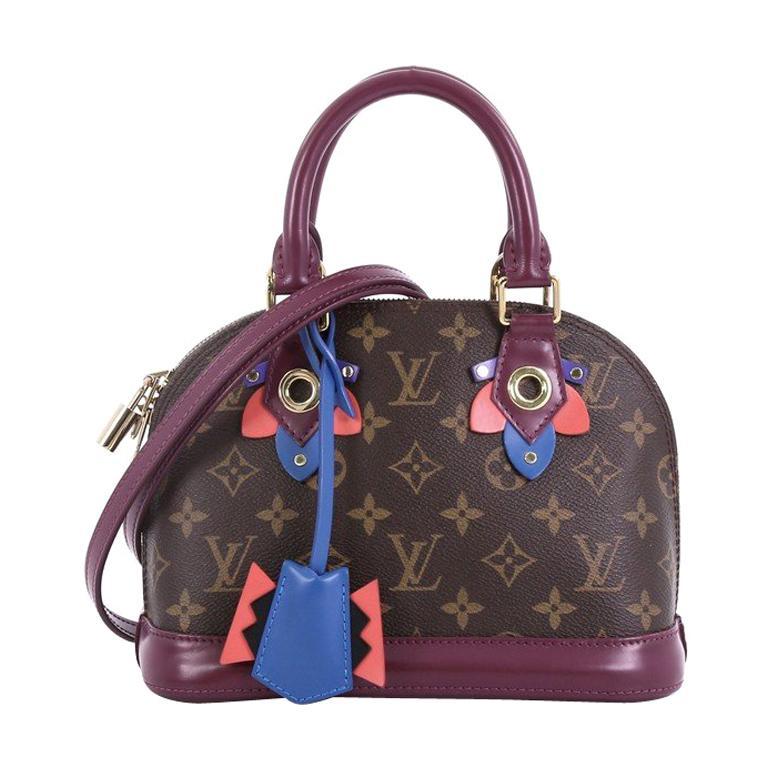 13e3aaf24d68 Louis Vuitton Alma Handbag Limited Edition Totem Monogram Canvas BB For  Sale at 1stdibs