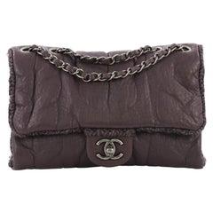 Chanel Chic Knit Flap Bag Sheepskin and Wool Mini