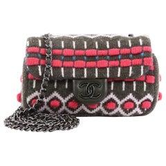 Chanel Paris-Salzburg Flap Bag Multicolor Cashmere Extra Mini
