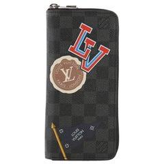 Louis Vuitton Brazza Wallet Limited Edition Damier Graphite LV League