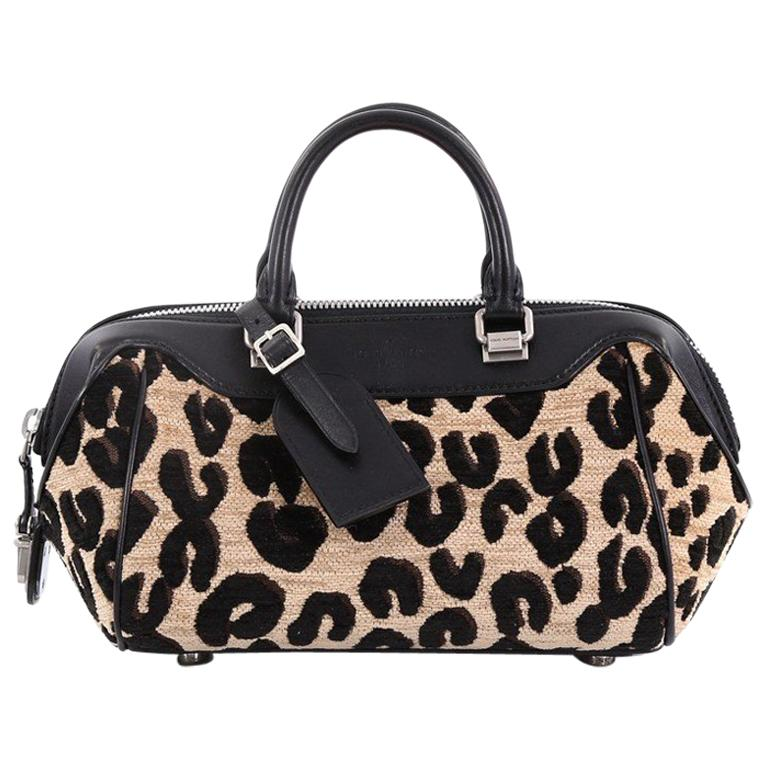 86e343632e9b Louis Vuitton Baby Bag Limited Edition Stephen Sprouse Leopard Chenille For  Sale