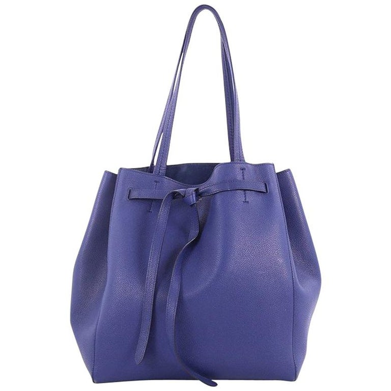 Celine Phantom Tie Cabas Tote Leather Small at 1stdibs 9bd7502f91f7b