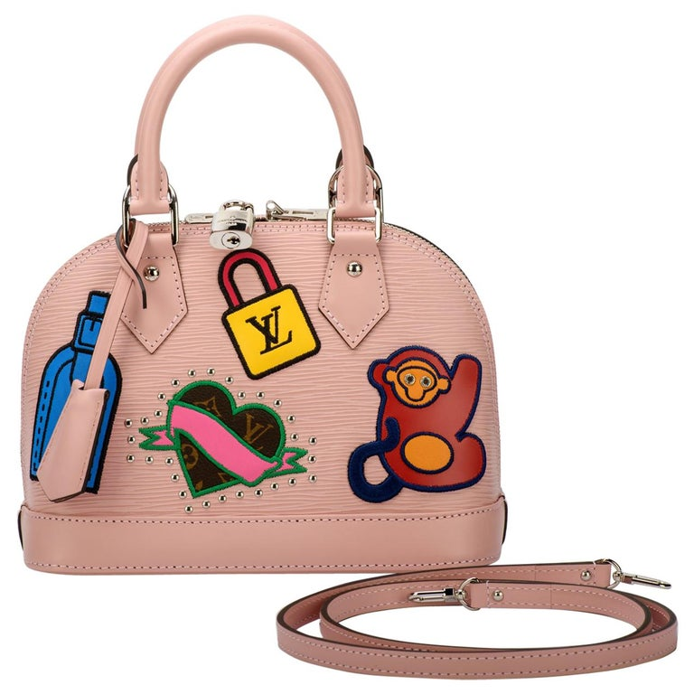 New in Box Louis Vuitton Limited Edition Pink Alma Stickers  For Sale