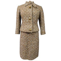French Patron Christian Dior/Berenice skirt suit  - Demi Couture Circa 1962/1965