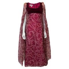 Vitage 1960s Quad Gown