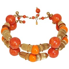 Summer KJL 70s necklace choker