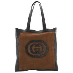 316edb1c7c3 Gucci Ophidia Soft Open Tote Suede Large