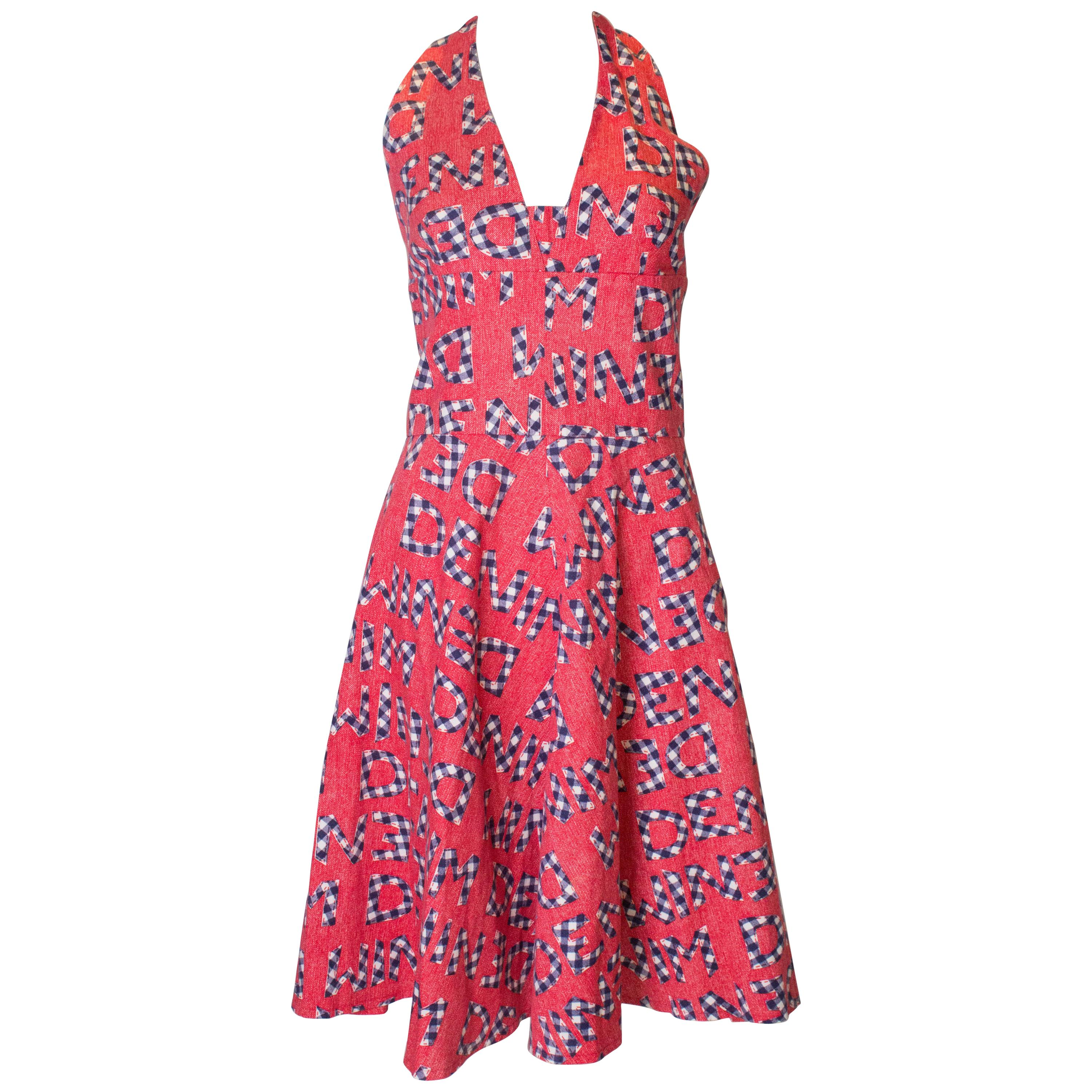 Vintage Susan Small Casual Cotton Summer Dress