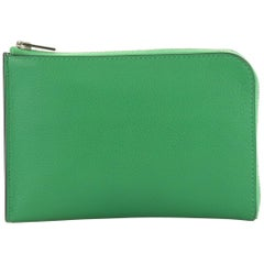 4985b8e8d2 Hermes Green Crocodile Wallet For Sale at 1stdibs