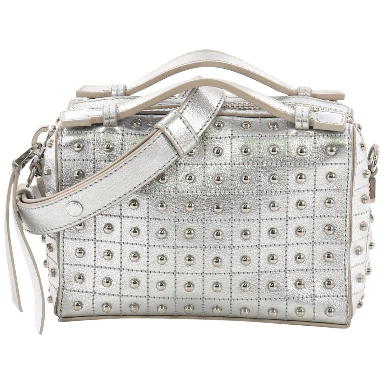 00296afea3 Tod's Gommino Shoulder Bag Studded Leather Micro at 1stdibs