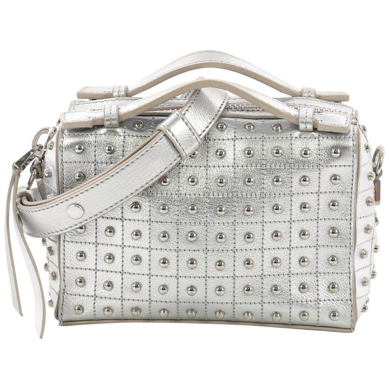 4919ff4fa2 Tod s Gommino Shoulder Bag Studded Leather Micro For Sale at 1stdibs