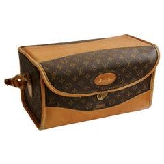 Louis Vuitton The French Co. Saks Monogram Train Case Vanity Travel Bag, 1970s