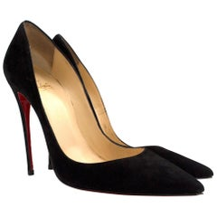 Christian Louboutin So Kate 120mm suede pumps US 8