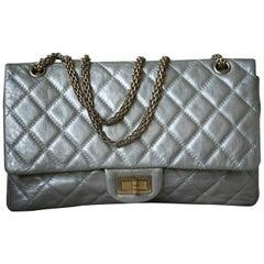 Chanel 2.55 Reissue Metallic Calfskin Quilted Flap Bag