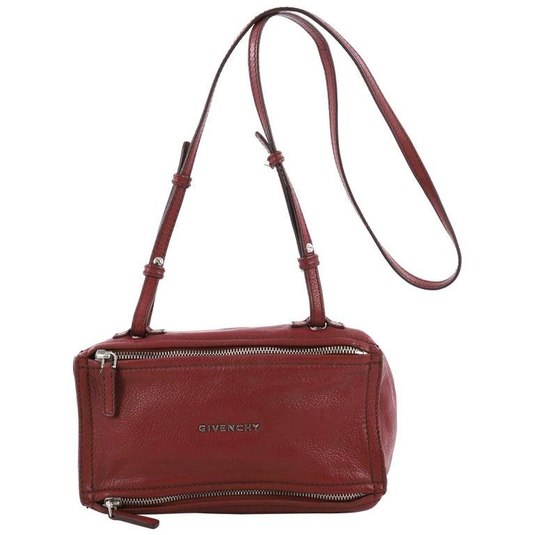bfa51b3ae8509 Givenchy Pandora Bag Leather Mini For Sale at 1stdibs