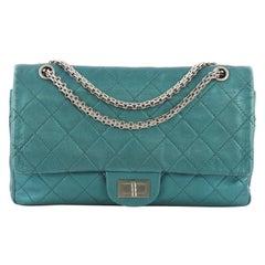 Chanel Reissue 2.55 Handbag Quilted Metallic Aged Calfskin 227