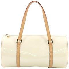 Louis Vuitton Bedford Handtasche mit Monogramm und Schutzlack
