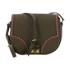 Louis Vuitton Junot Handbag Monogram Empreinte Leather