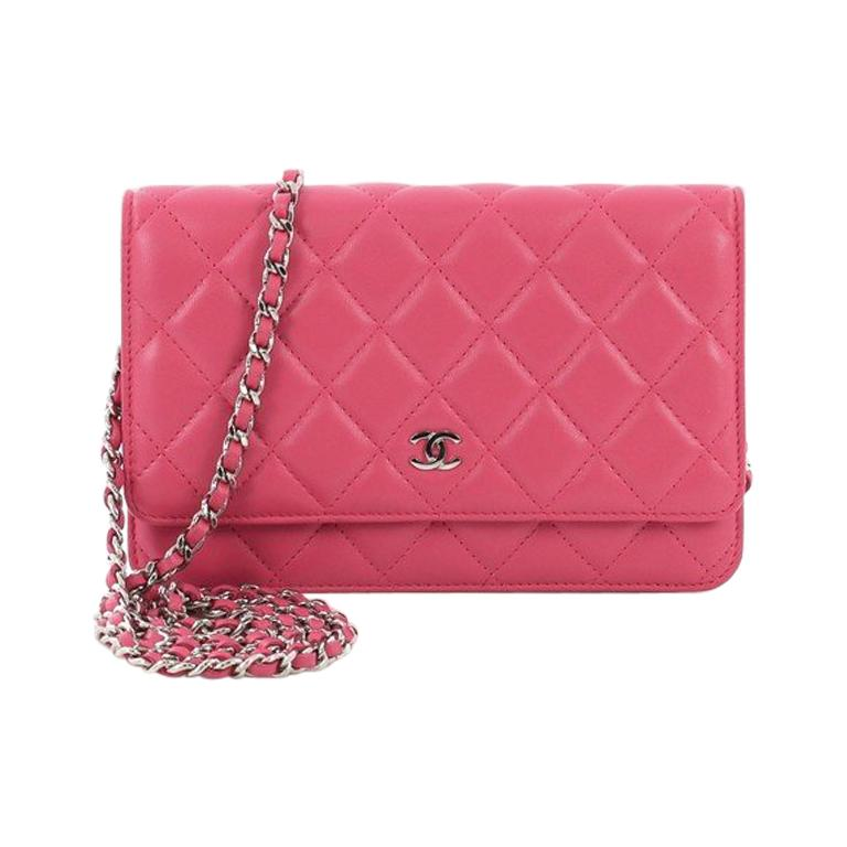 fa55c558562e Chanel Wallet on Chain Quilted Lambskin For Sale at 1stdibs